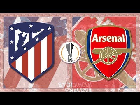 Match day live 2017/18 // atletico madrid v arsenal - europa league sf 2nd leg
