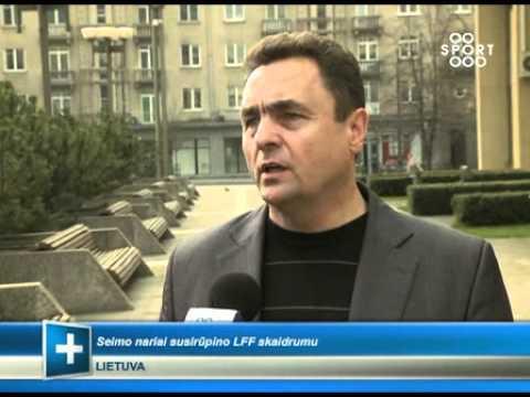 SPORT1: Seimo nariai susirūpino Futbolo federacijos skaidrumu