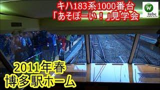 キハ183系1000番台 特急「あそぼーい!」見学会 博多駅 2011年5月29日 JR Kyushu Trains