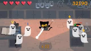 google halloween game 2016 momo the spell casting cat 105k