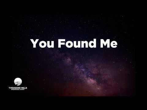 You Found Me Official Lyrics 2018 Youtube