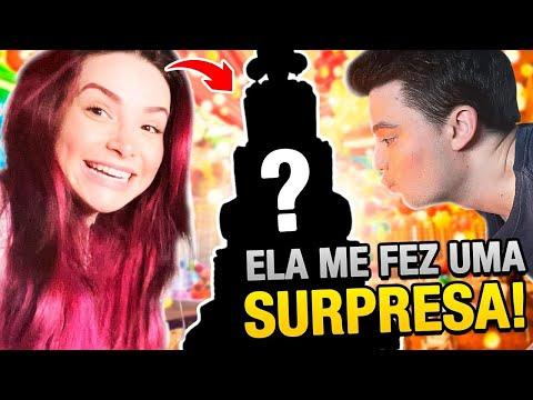 ELA FEZ UMA SURPRESA DE ANIVERSÁRIO