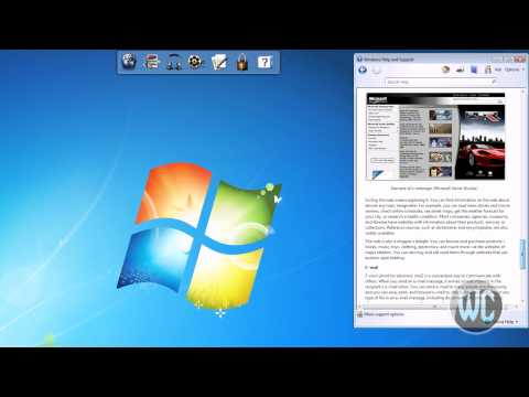 Windows 7 - Using the Help and Support Guide
