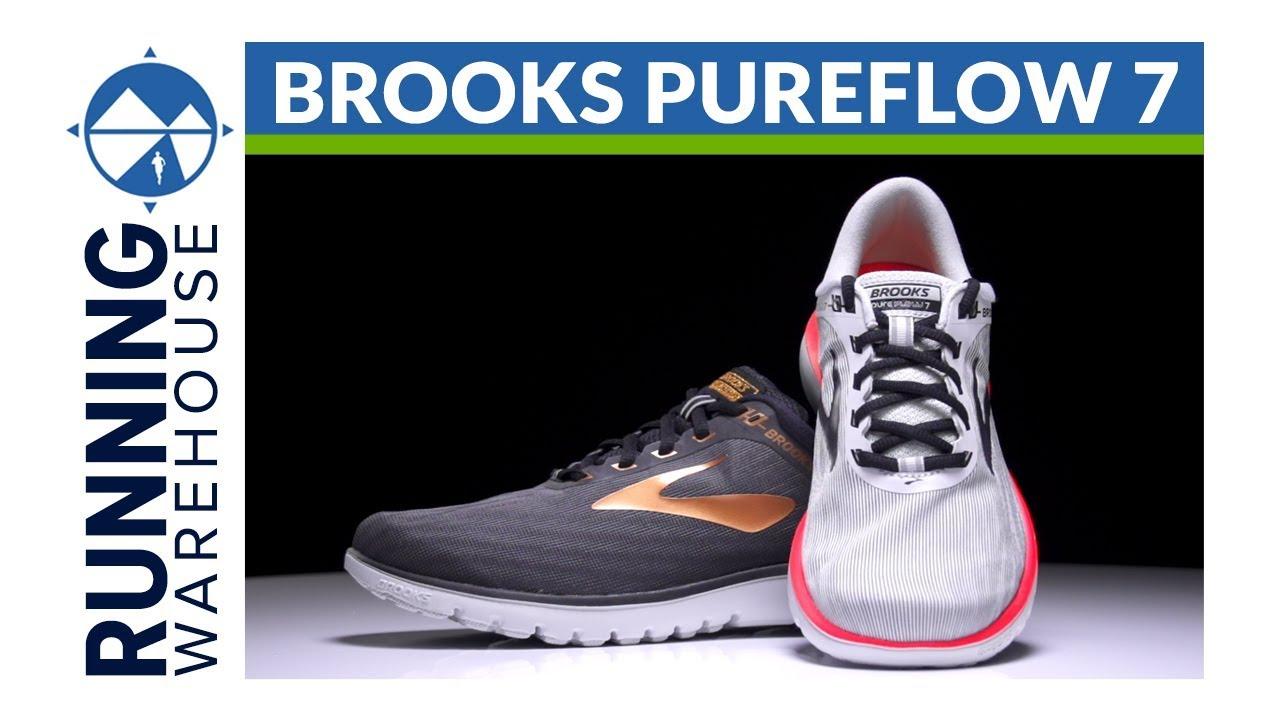 622dd4d5b03e8 Brooks PureFlow 7 - YouTube