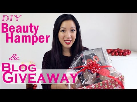 Make Your Own Beauty Hamper Tutorial & GIVEAWAY