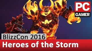 Heroes of the Storm Interview - Varian, Ragnaros, and a