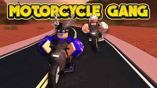 THE MOTORCYCLE GANG! (ROBLOX Jailbreak)