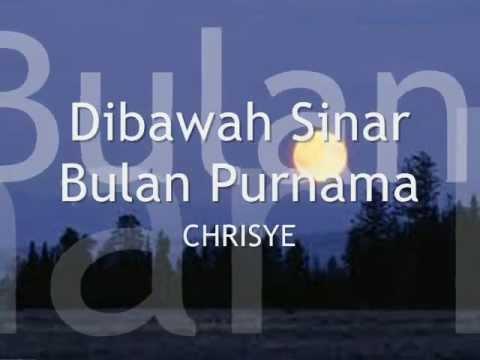 Chrisye - Dibawah Sinar Bulan Purnama ( HD-Quality )