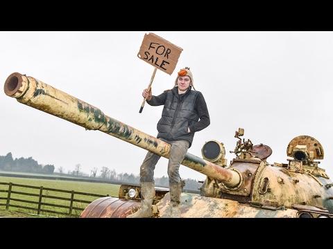 Mechanic Puts Russian Tank For Sale On Ebay