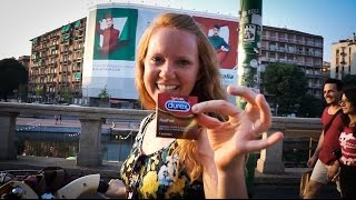 HE GAVE HER A CONDOM! - Milan, Italy
