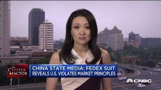 china state media fedex lawsuit reveals the us violates market principles