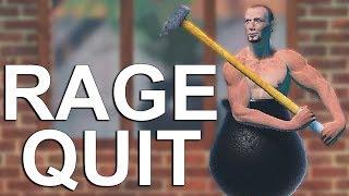 NE ZELIM OVO VISE DA IGRAM! (RAGE QUIT!!!) - Getting Over It