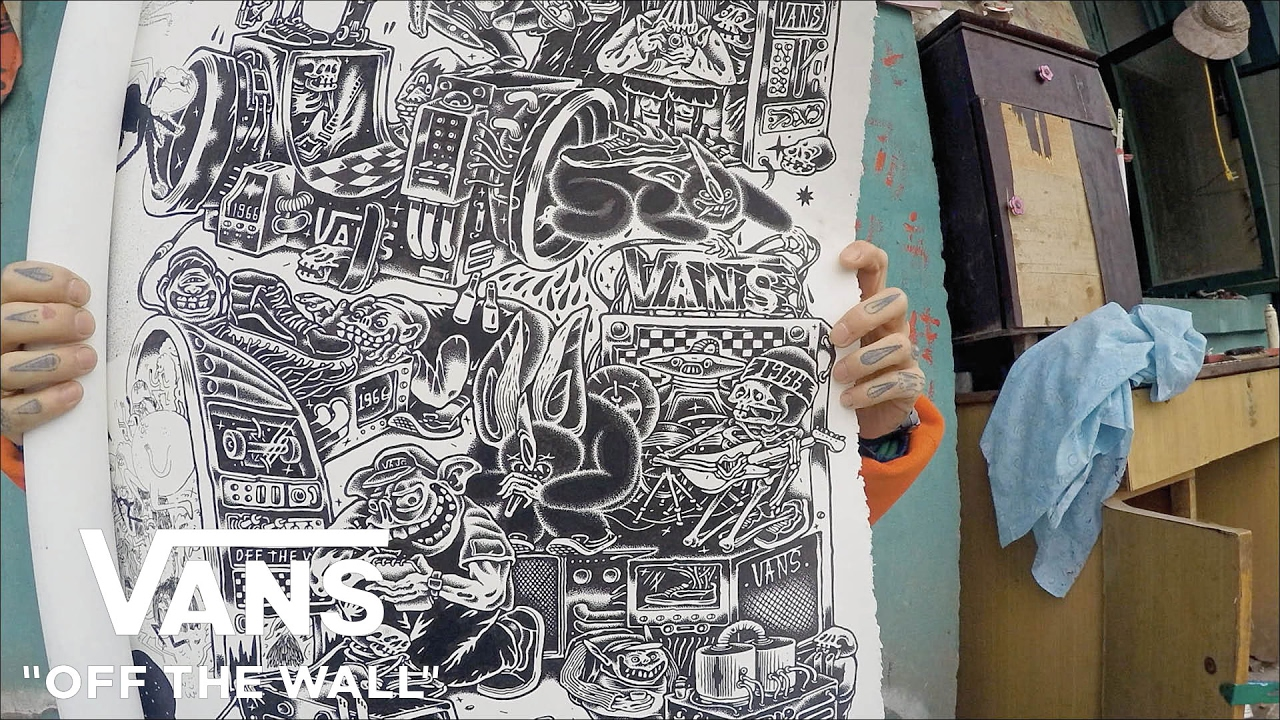 Off The Wall Arts mrzyk & moriceau: the art of collaboration | off the wall | vans