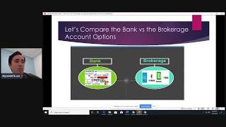Solo 401k LiveChat - Bank vs Brokerage Account Considerations