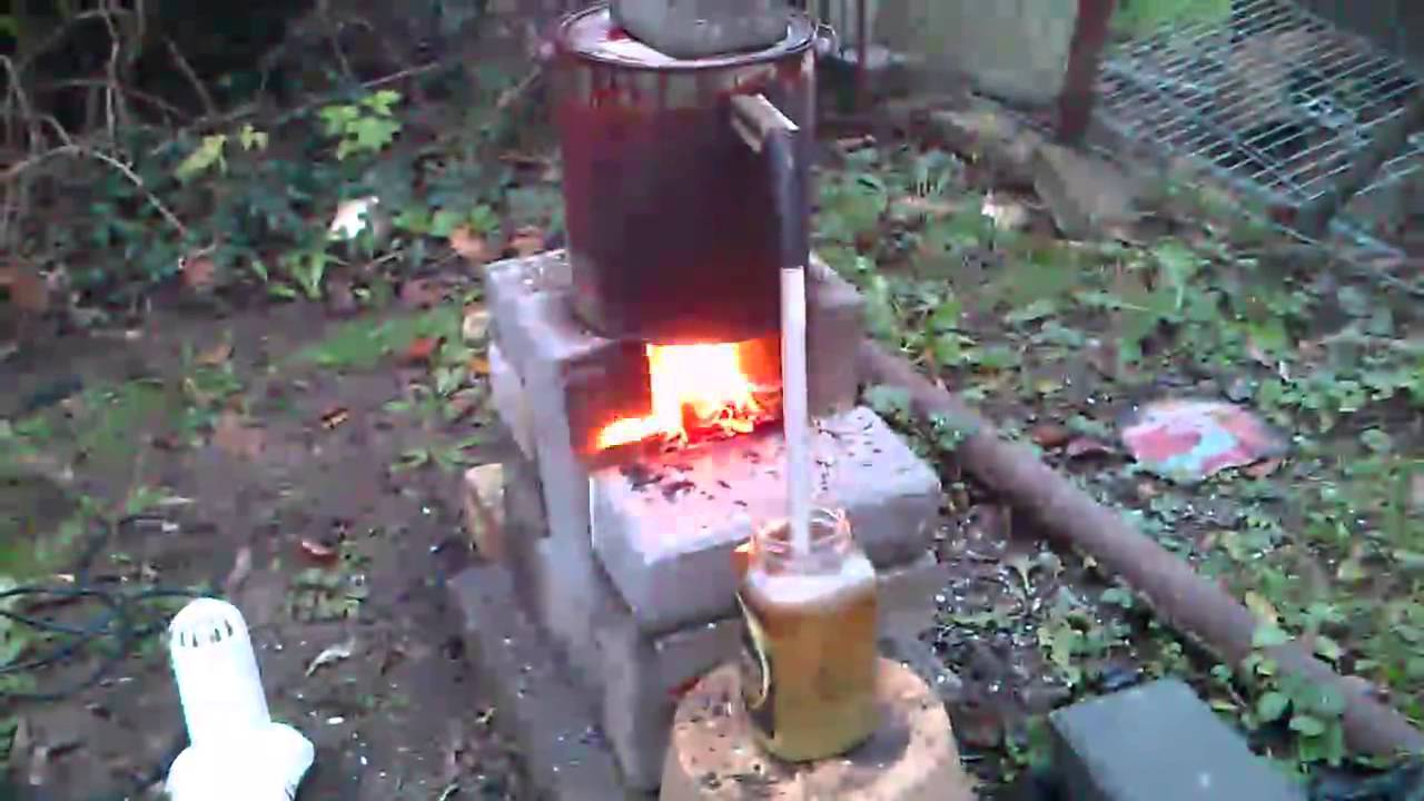 homemade plastic to oil refineri - YouTube