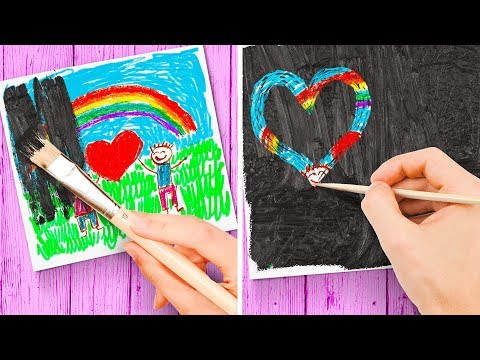AWESOME ART HACK FOR CHILDREN