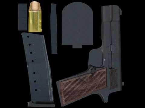 Free Download Blender Colt .45 Pistol!