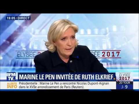 Marine Le Pen 20H 28 04 2017