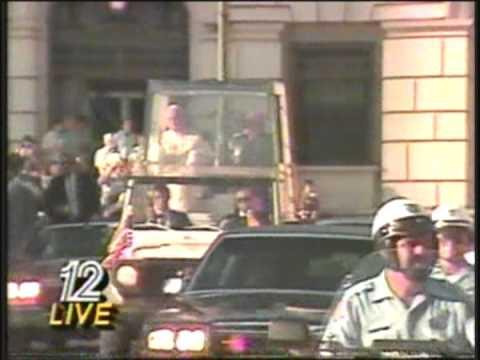 Pope John Paul II visits San Antonio 1987 (Part 10)