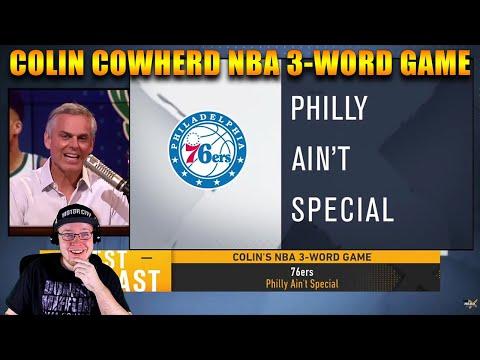 Reacting To Colin Cowherd NBA 3-Word Game