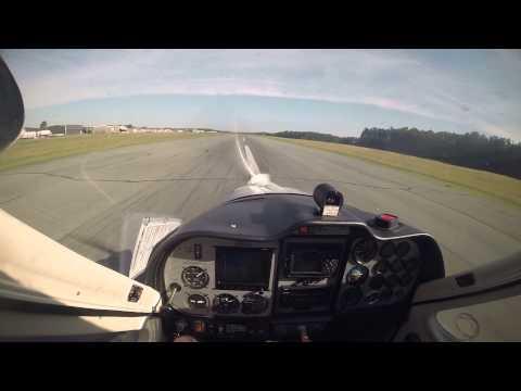 Tecnam P92 Eaglet (N16HV) Landing Hanover KOFP Runway 34