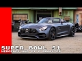 2018 Mercedes AMG GT C Roadster Commercial Trailer & Overview