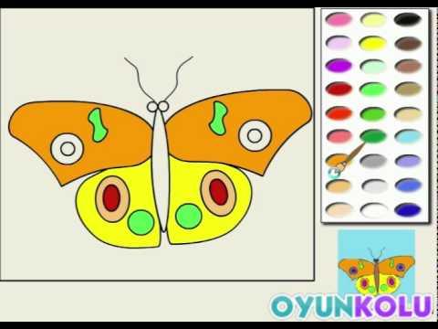 Kelebek Boyama Oyununun Oynanış Videosu Youtube