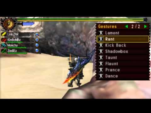 LZ : Monster Hunter 4 Ultimate Fail!!!!! [Funny Moment]