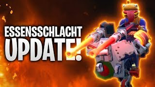 DAS ESSENSSCHLACHT UPDATE! 🍔🍅 | Fortnite: Battle Royale