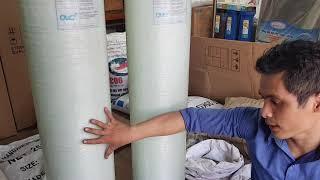 Hướng dẫn tự đổ vật liệu lọc vào cột nước khử phèn khử mặn