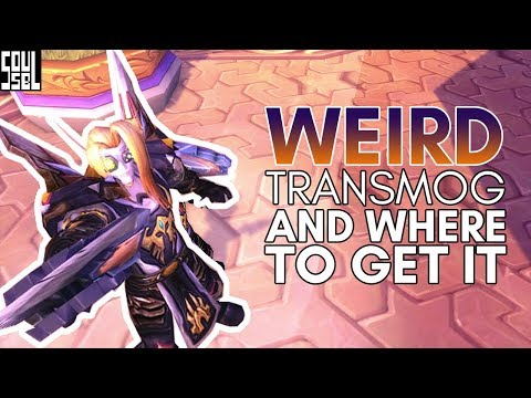 My personal transmog collection with links and sources - World of Warcraft Legion