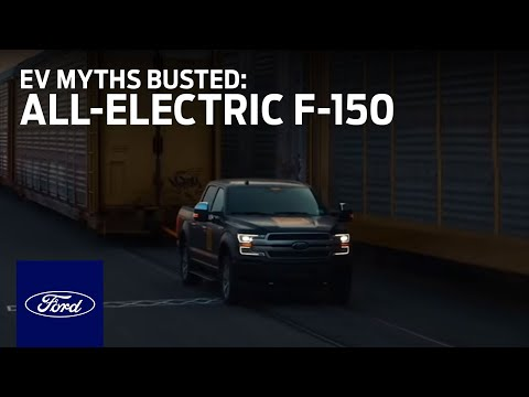 EV Myths Busted: All-Electric F-150 Prototype Tows 1M+ Pounds | Electric Vehicles | Ford