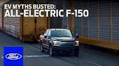 EV Myths Busted: All-Electric F-150 Prototype Tows 1M+ PoundsElectric VehiclesFord