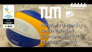 Munich 2018 | Beach Volleyball | World University Championship | Promo Video No.1 | #UniWorlds