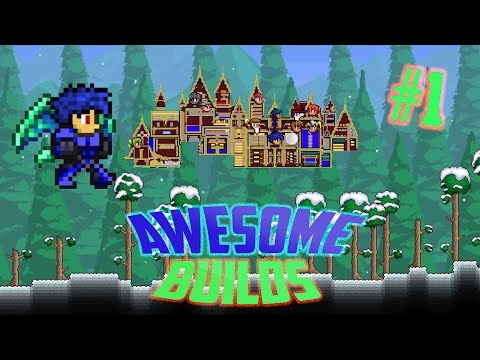 Terraria Ios/Android Best Build Worlds Review EP 1