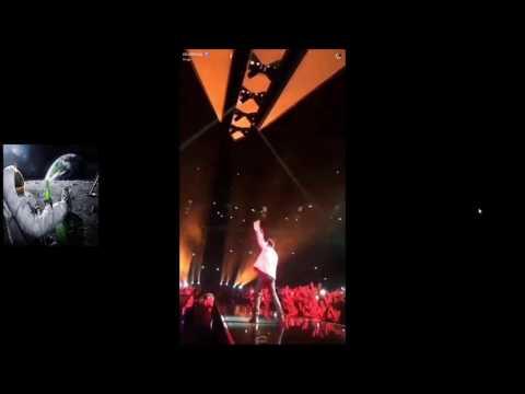 The weeknd tour brings out Drake, lil uzi vert and beatsbynav