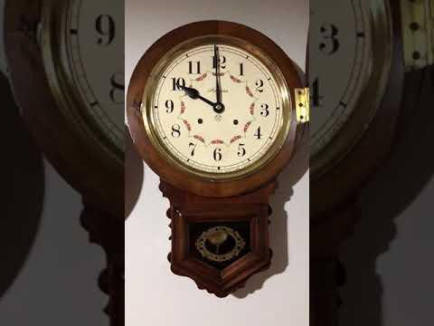 Relógio De Parede Ansonia (gravatinha)