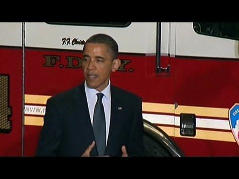 Obama bei der Feuerwehr  - YOU FM Synchro mit Coldmirror