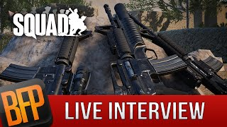 SQUAD - Live Interview & Gameplay - April 12, 5:30pm ET