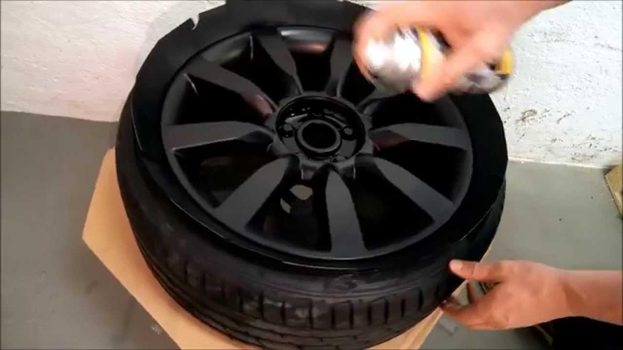 felgen dippen mit plasti dip rim painting alloy wheels. Black Bedroom Furniture Sets. Home Design Ideas