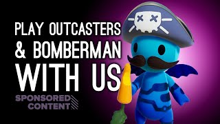 Play Against Us Live! Luke & Mike (AND YOU??!) Play Outcasters and Bomber-Man R (Sponsored Content)