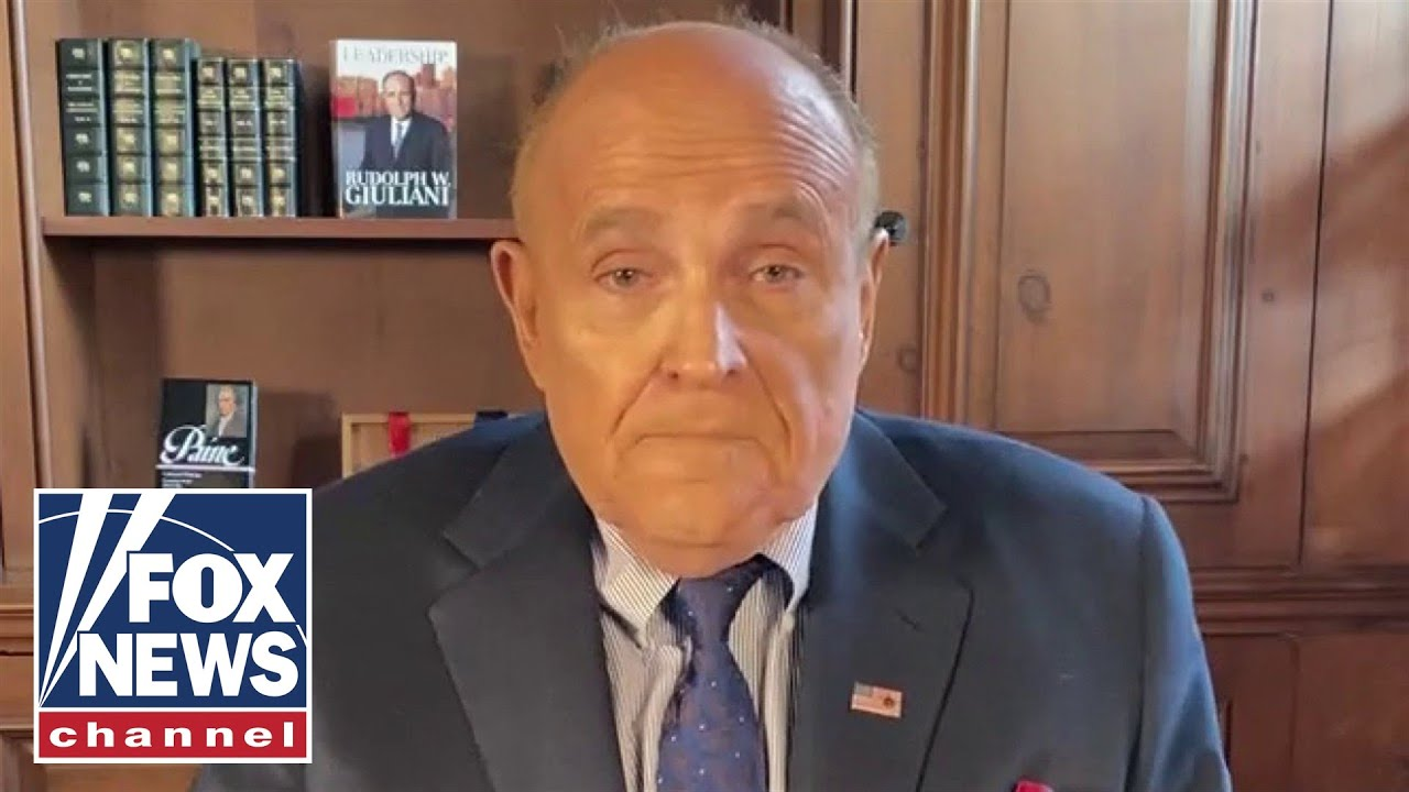Rudy Giuliani sounds off on 'left-wing takeover' of policing