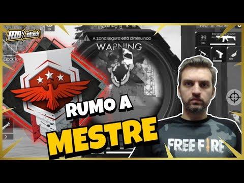 [🔴LIVE] FREE FIRE AO VIVO 💎 ROLETANDO DIAMANTES RUMO A MESTRE (LIVE)