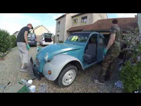 Remontage 2cv Remplacement Chassis