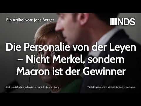 Die Personalie von der Leyen – Nicht Merkel, sondern Macron ist der Gewinner | Jens Berger