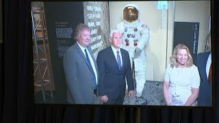 50 years after Apollo 11 launch: Neil Armstrong's spacesuit displayed at Smithsonian