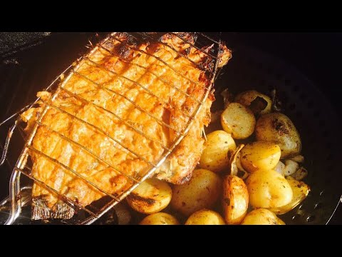 Butterfly Grilled Fish In Garlic Sauce