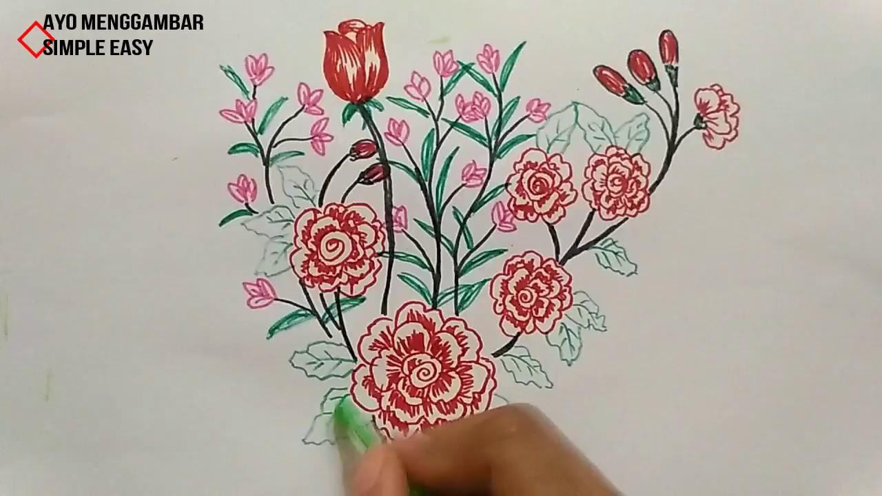 Unduh 9700 Gambar Bunga Cantik Draw HD Terbaru