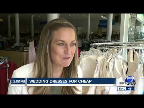 Thrift store wedding dresses for bargain prices