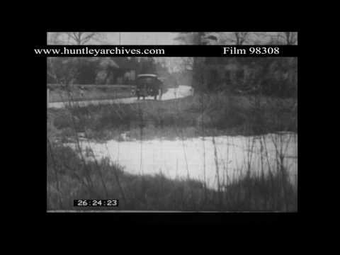 Cookham Village In Berkshire, 1950's.  Archive Film 98308